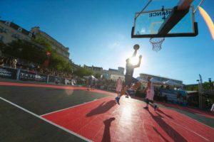 Playground de l'Urban PB, place Leclerc à Poitiers