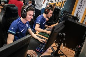 Les joueurs des Orks lors de la Gamers Assembly à Poitiers