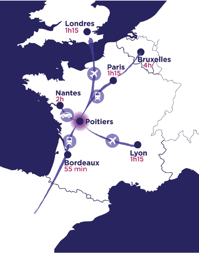 STRATEGICALLY LOCATED IN NOUVELLE-AQUITAINE
