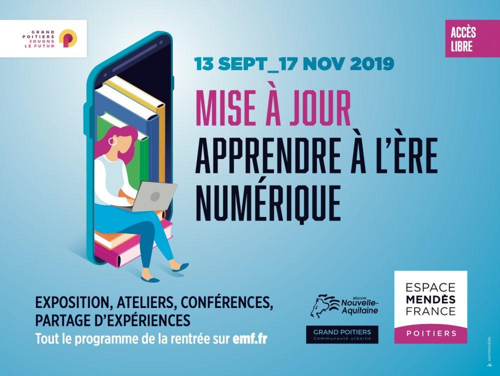 Exposition – Forum « Mise à jour – Apprendre à l'ère numérique »