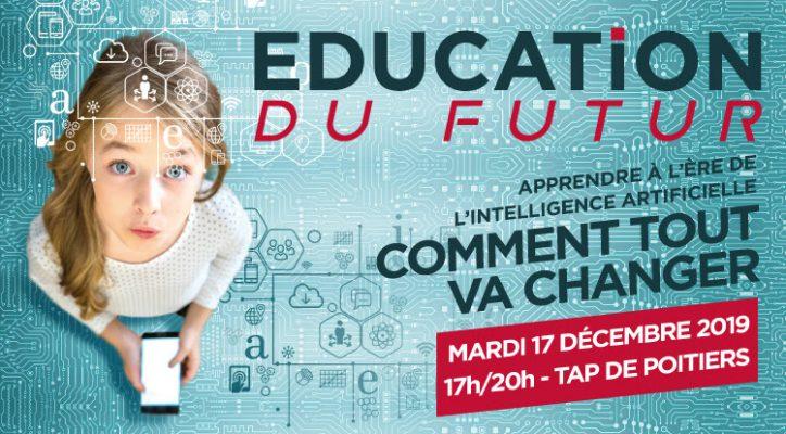 Conférence «apprendre à l'ère de l'IA» au TAP